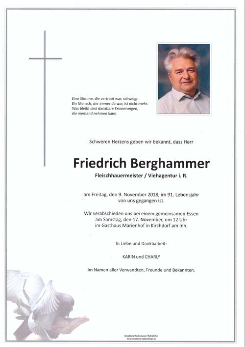 Friedrich Berghammer